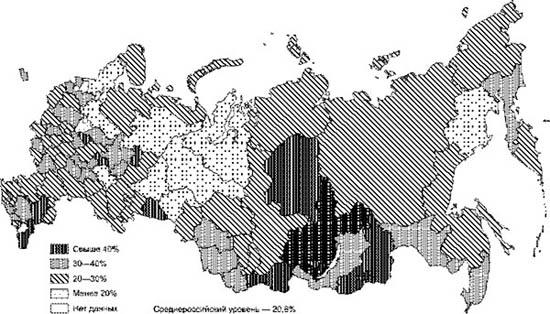 -причины низкой цены труда в россии: